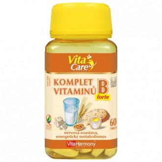 KOMPLETNÍ SORTIMENT - Komplet vitaminů B forte, 60 tbl.