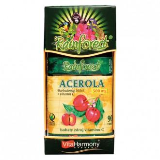 KOMPLETNÍ SORTIMENT - Acerola 500 mg & Vitamin C 250 mg - 90 tbl.