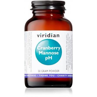 KOMPLETNÍ SORTIMENT - Viridian Cranberry (Brusinka) Mannose pH 50g