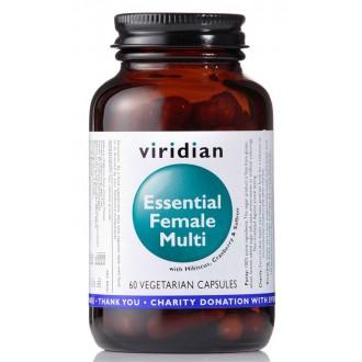 KOMPLETNÍ SORTIMENT - Viridian Essential Female Multi 60 kapslí