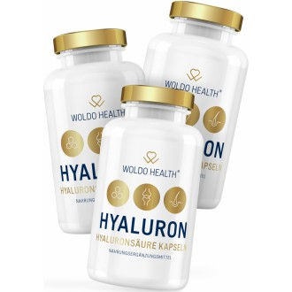 AKČNÍ BALÍČKY 2+1 - 2+1 WoldoHealth Kyselina hyaluronová s kolagenem 3x90 cps.