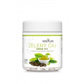 DOPLŇKY STRAVY NA: - VITO LIFE - Zelený čaj 150 tobolek