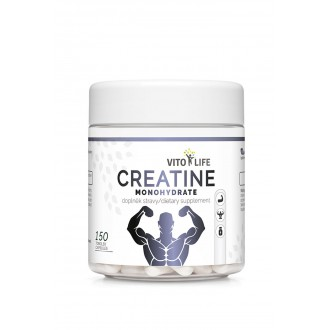 KOMPLETNÍ SORTIMENT - VITO LIFE - Creatine monohydrate 150 tobolek