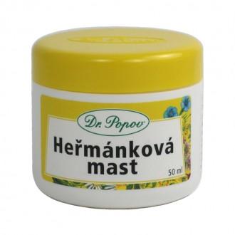 KOMPLETNÍ SORTIMENT - Dr. Popov Heřmánková mast, 50 ml