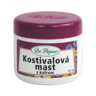 BYLINNÉ MASTI - Dr. Popov Kostivalová mast s kafrem, 50 ml