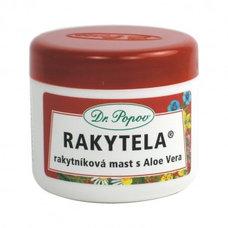 BYLINNÉ MASTI - Dr. Popov Rakytníková mast s Aloe Vera - Rakytela 50 ml