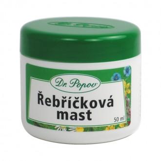 BYLINNÉ MASTI - Dr. Popov Řebříčková mast 50 ml.