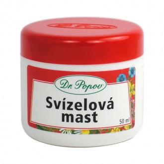 BYLINNÉ MASTI - Dr. Popov Svízelová mast, 50 ml