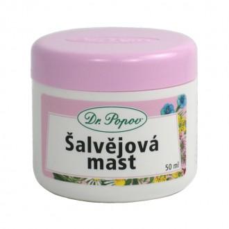 BYLINNÉ MASTI - Dr. Šalvějová mast, 50 ml