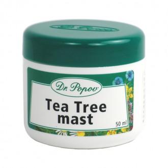 BYLINNÉ MASTI - Dr. Popov Tea Tree mast, 50 ml
