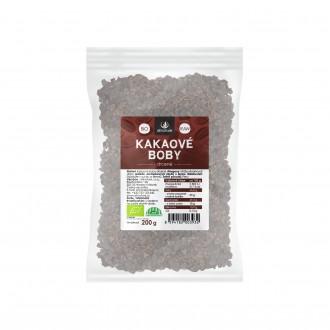 KOMPLETNÍ SORTIMENT - Allnature drcené kakaové boby BIO RAW 200 g