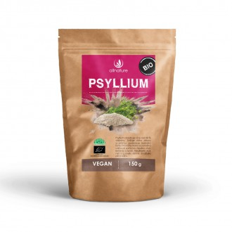 KOMPLETNÍ SORTIMENT - Allnature Psyllium BIO 150 g