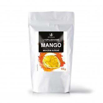 KOMPLETNÍ SORTIMENT - Allnature Mango sušené mrazem 15 g