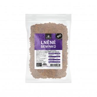 KOMPLETNÍ SORTIMENT - Allnature Lněné semínko hnědé BIO 200 g