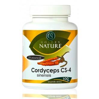 KOMPLETNÍ SORTIMENT - Golden Nature Cordyceps CS-4 100 cps.