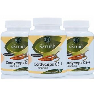 AKČNÍ BALÍČKY 2+1 - 2+1 Golden Nature Cordyceps CS-4 300 cps.