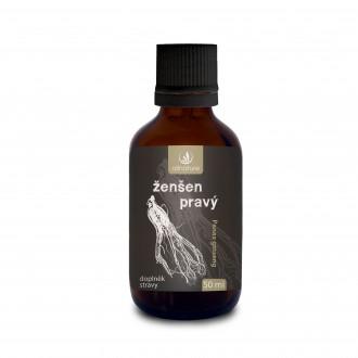 BYLINNÉ KAPKY - Allnature Ženšen pravý bylinné kapky 50 ml