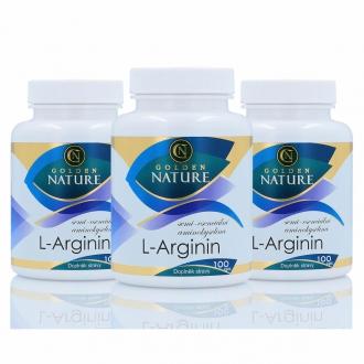 AKČNÍ BALÍČKY 2+1 - 2+1 Golden Nature Arginin 300 cps.