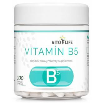 KOMPLETNÍ SORTIMENT - VITO LIFE - Vitamín B5 100 cps