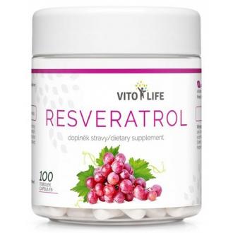 DOPLŇKY STRAVY NA: - VITO LIFE - Resveratrol 100 cps