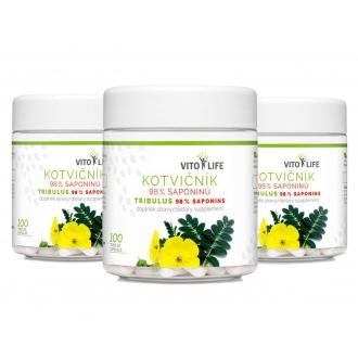AKČNÍ BALÍČKY 2+1 - 2+1 Vito Life  Kotvičník zemní 98% saponinů 300 cps