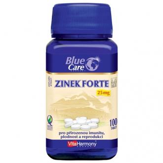 KOMPLETNÍ SORTIMENT - Zinek Forte 25 mg - ekonomické balení 100 tbl.