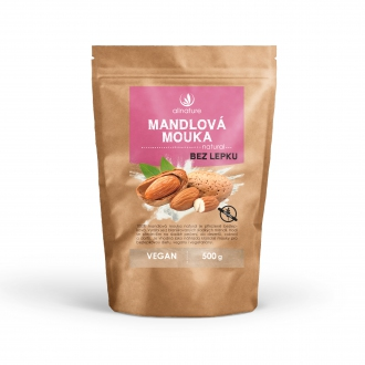 ZDRAVÁ VÝŽIVA - Allnature Mandlová mouka natural 500 g