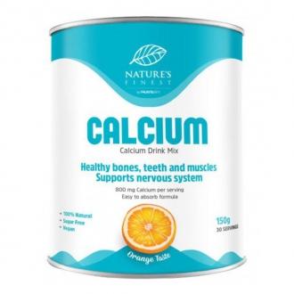 KOMPLETNÍ SORTIMENT - Nutrisslim Calcium 150g (Vápník) pomeranč