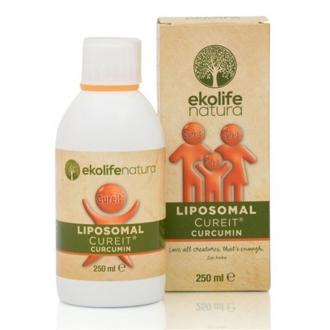 KOMPLETNÍ SORTIMENT - Ekolife natura Liposomal CureIt Curcumin 250ml (Lipozomální CureIt Kurkumin)