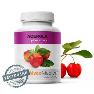 KOMPLETNÍ SORTIMENT - MycoMedica Acerola 90 cps.