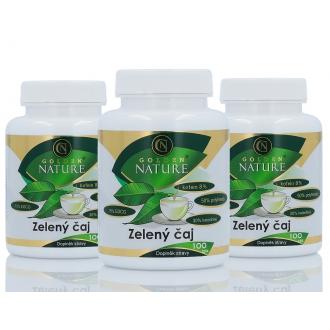 AKČNÍ BALÍČKY 2+1 - 2+1 Golden Nature Zelený čaj 300 cps.