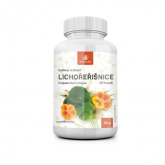 KOMPLETNÍ SORTIMENT - Allnature Lichořeřišnice bylinný extrakt 60 cps.