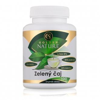 KOMPLETNÍ SORTIMENT - Golden Nature Zelený čaj 100 cps.