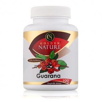 KOMPLETNÍ SORTIMENT - Golden Nature Guarana 10% kofeinu 100 cps.