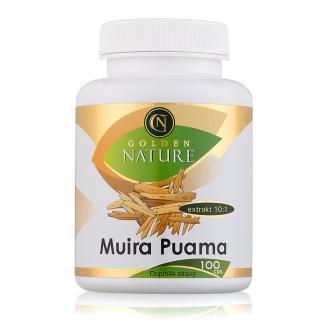 KOMPLETNÍ SORTIMENT - Golden Nature Muira Puama 100 cps.