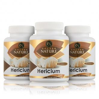 AKČNÍ BALÍČKY 2+1 - 2+1 Golden Nature Hericium 30% polysacharidů 300 cps.