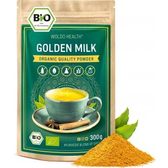 KOMPLETNÍ SORTIMENT - Woldohealth Zlaté mléko kurkuma 300g