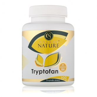 KOMPLETNÍ SORTIMENT - Golden Nature Tryptofan+B6 100 cps.