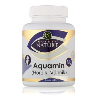 KOMPLETNÍ SORTIMENT - Golden Nature Aquamin (Vápník+Hořčík) 100 cps.