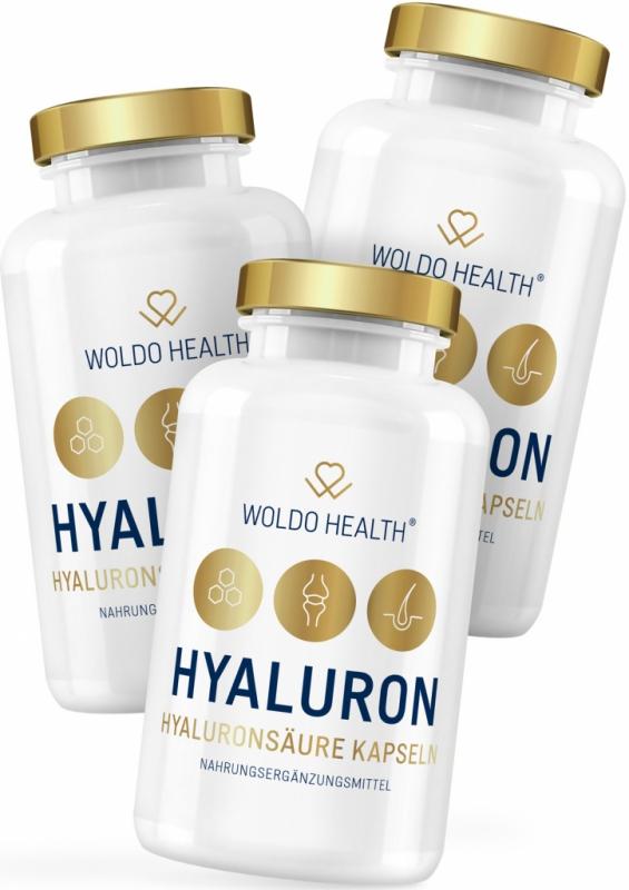 2+1 WoldoHealth Kyselina hyaluronová s kolagenem 3x90 cps.