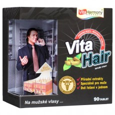 VitaHair, vlasový stimulátor pro muže, 90 tbl.