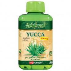 Yucca 500 mg - 180 kapslí, XXL economy