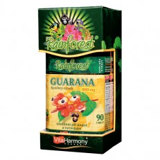 RainForest® Guarana 800 mg - 90 tbl.