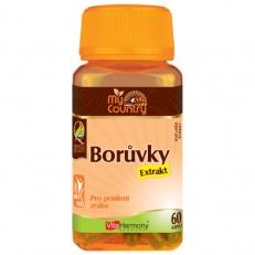 My Country - Borůvky extrakt 40 mg, 60 cps.