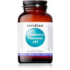 Viridian Cranberry (Brusinka) Mannose pH 50g