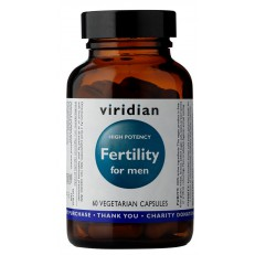 Viridian Fertility for Men 60 kapslí