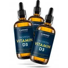 2+1 CARINO HEALTHCARE Vitamin D3 Kapky ( 1000 I.U. ) 3x50 ML