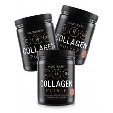 2+1 Woldohealth 100% Hovězí Kolagen 3x500 g