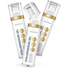 2+1 WoldoHealth Kyselina hyaluronová s kolagenem a aloe vera gel 3x50 ml