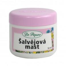 Dr. Popov Šalvějová mast, 50 ml
